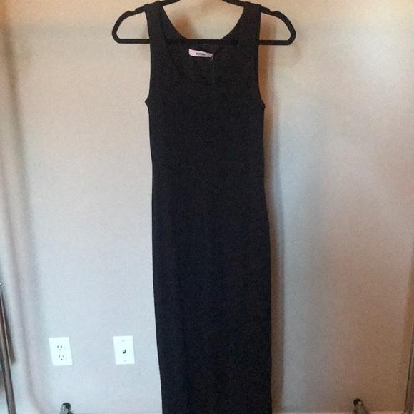 JustFab Dresses & Skirts - Long Black maxi dress